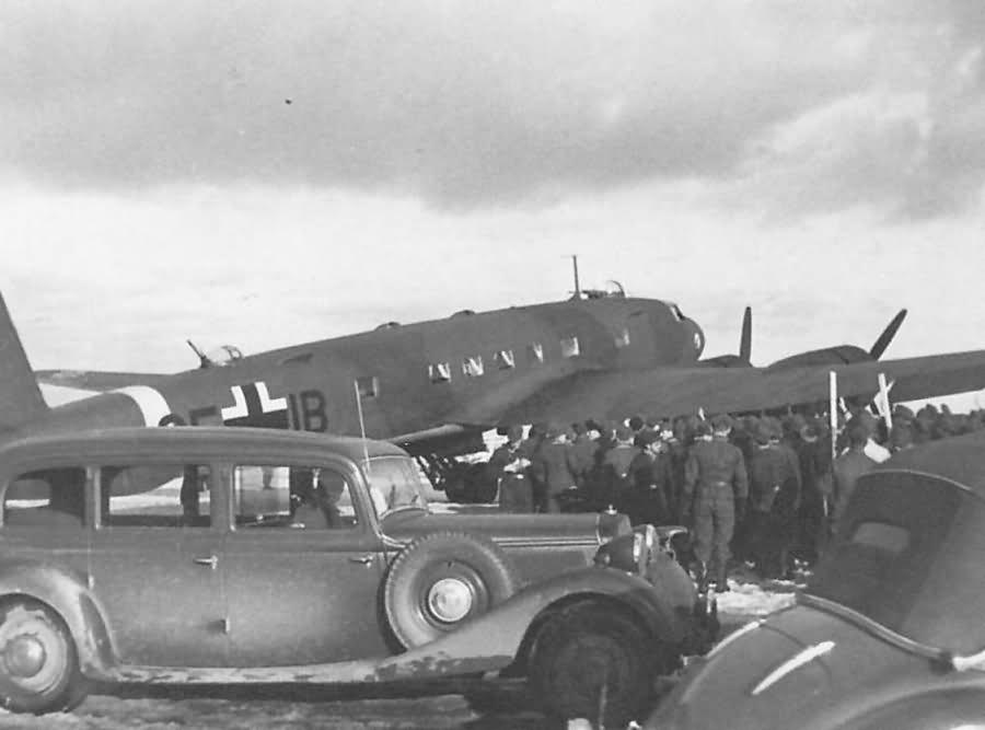 Fw 200 C-4/U1 code CE+IB WNr.0137 Rechlin Germany 1943