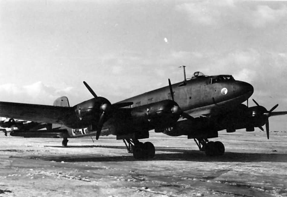 Fw 200 C of FdF Smolensk Spring 1943