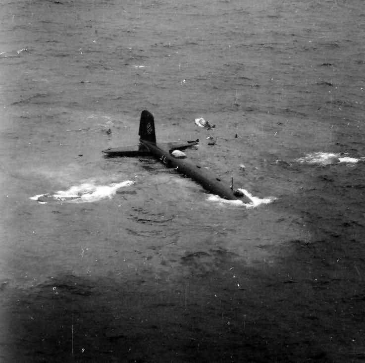 Fw 200 F8+BB W.Nr. 0069 sinking in the Atlantic Ocean – 23 July 1941