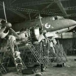Focke Wulf Fw200 C-3 of KG40, engine check