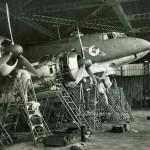 Focke Wulf Fw200 C-3 of KG40, engine check