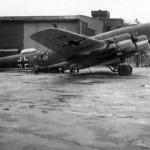 Broken Focke Wulf Fw 200 C-3 KG40 code F8+AI