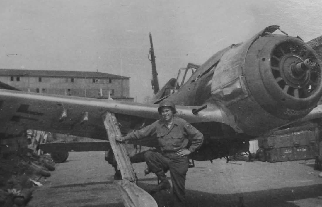 Captured German Fw 190