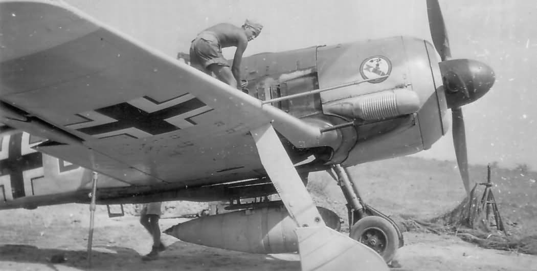 Focke Wulf Fw 190 Trop of the I./SG 4