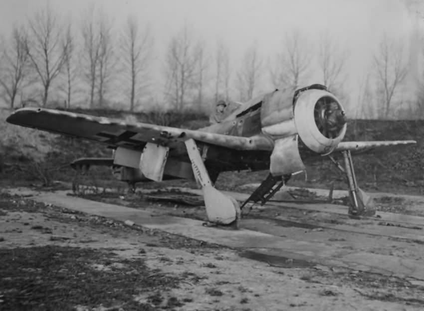 Focke Wulf Fw 190 Wreckage
