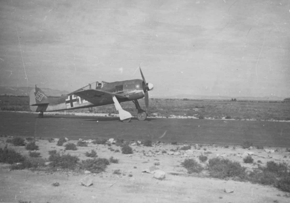 Focke Wulf Fw 190 white 12 Siclily Italy