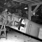 Focke Wulf Fw 190 yellow 2 Captured by US Troops 1945