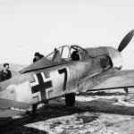 Focke Wulf Fw 190 7 on airfield