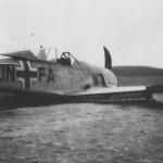 Focke Wulf Fw 190 DN+FA crash landing