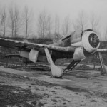 Fw190 left abandoned on a German airfield after the war
