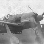 Focke Wulf Fw 190F front view 2