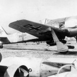 Focke Wulf Fw 190 with bomb