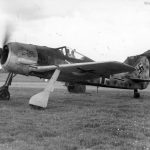 Fw190 from JG 1 France 1942