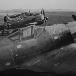 Several of the early Fw 190A-0