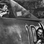 Wolfgang Rose of JG 26 in cockpit