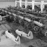 Fw 190s at Bremen factory