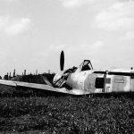Crashed Fw190 yellow 13