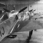 Fw 190A-0 inside the flight hangar