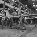 Fw 190A final assembly work