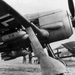 Fw 190 F-3 with ETC 50 bomb racks