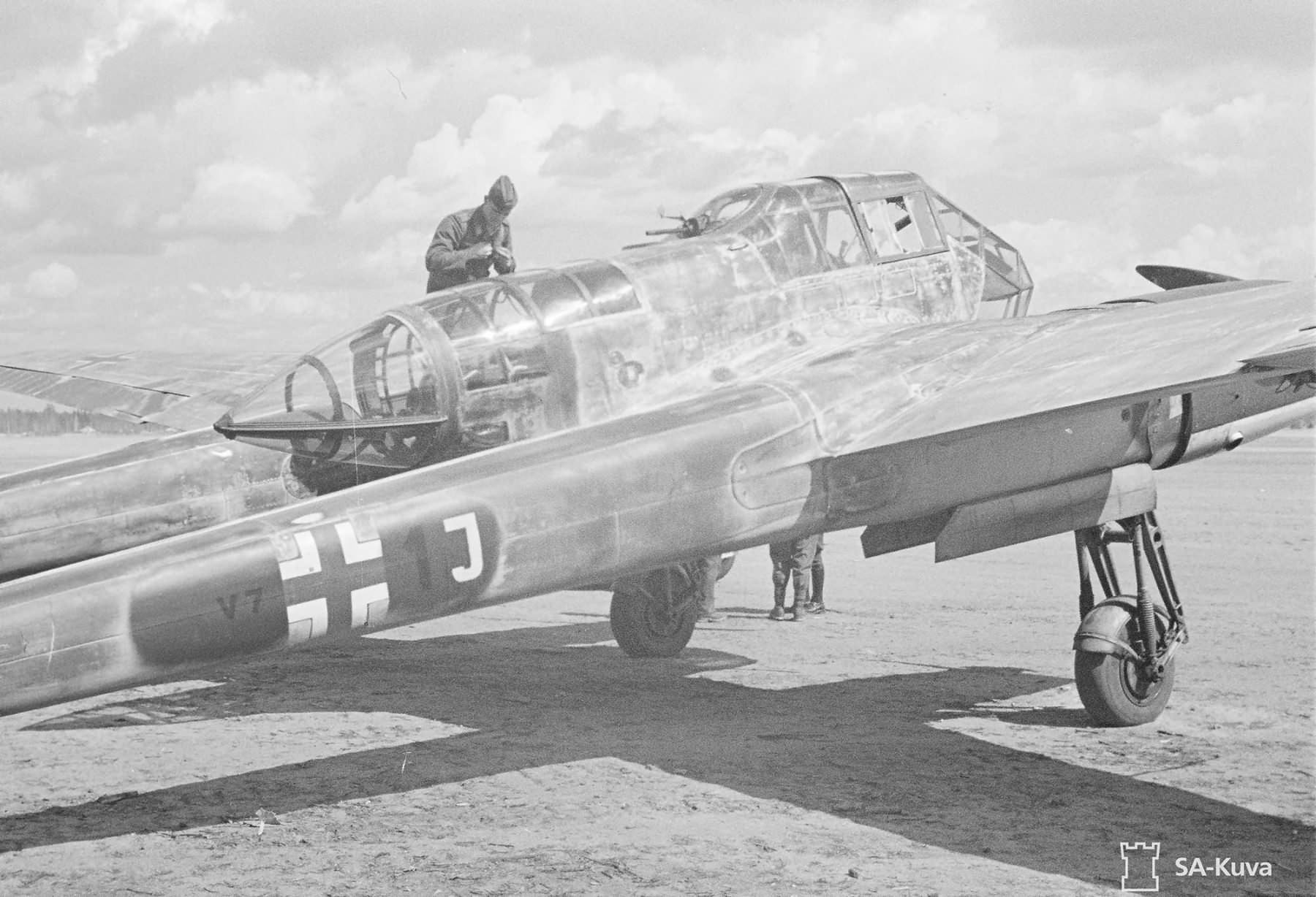 Fw 189 A-3 of the 1.(H)/32 V7+1J, June 1943