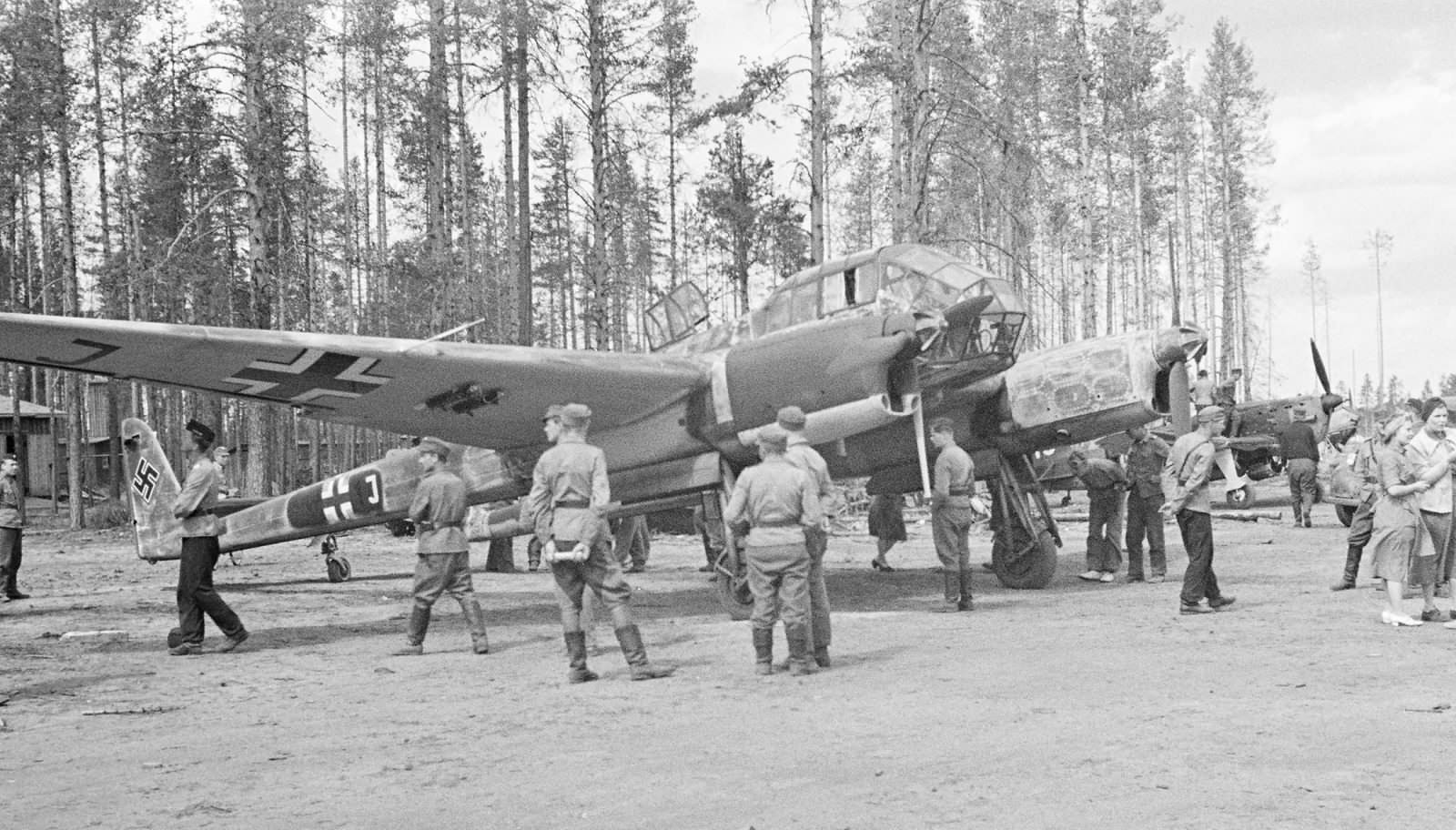 Fw 189 A-3 Uhu of the 1.(H)/32 V7+1J June 1943 2