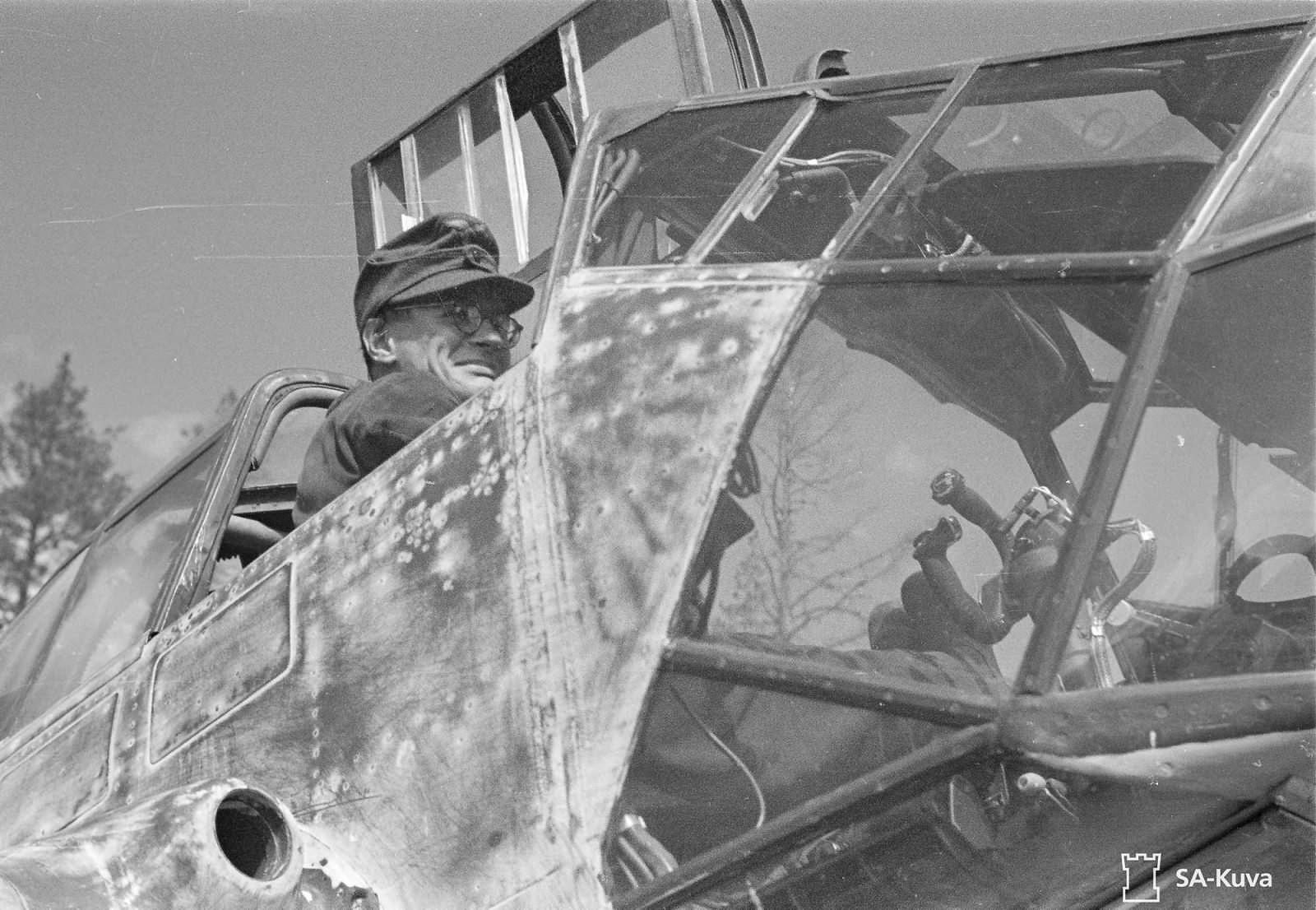 Focke-Wulf Fw 189 A-3 of the 1.(H)/32 V7+1J June 1943 5
