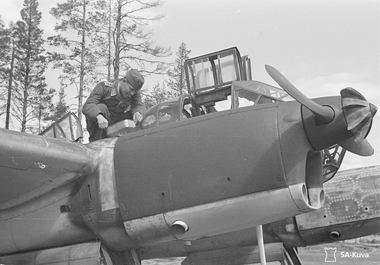 Fw 189 A-3 Uhu of the 1.(H)/32 V7+1J June 1943 6