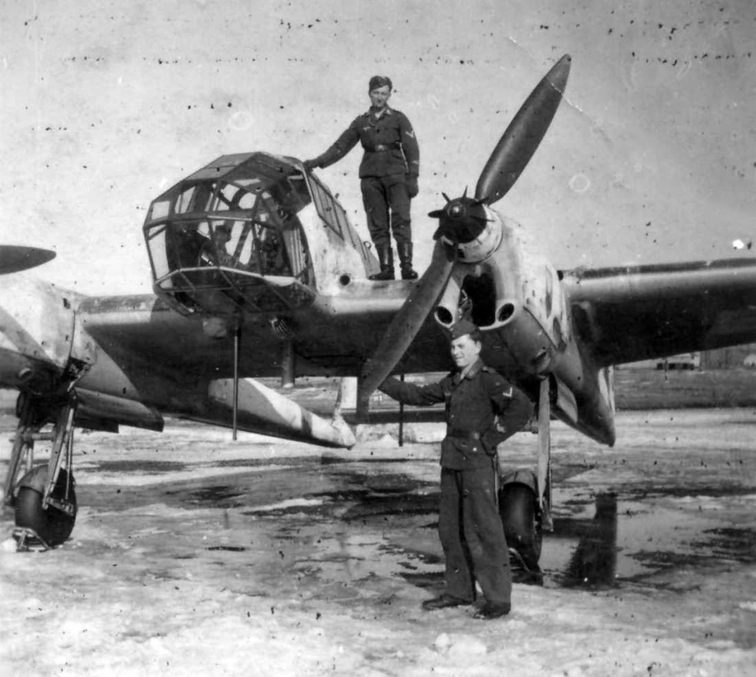 Focke-Wulf Fw189 winter 2