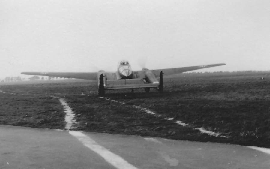 Fw189 A-1 code KC+JL from Flugzeugführerschule A/B 5 3