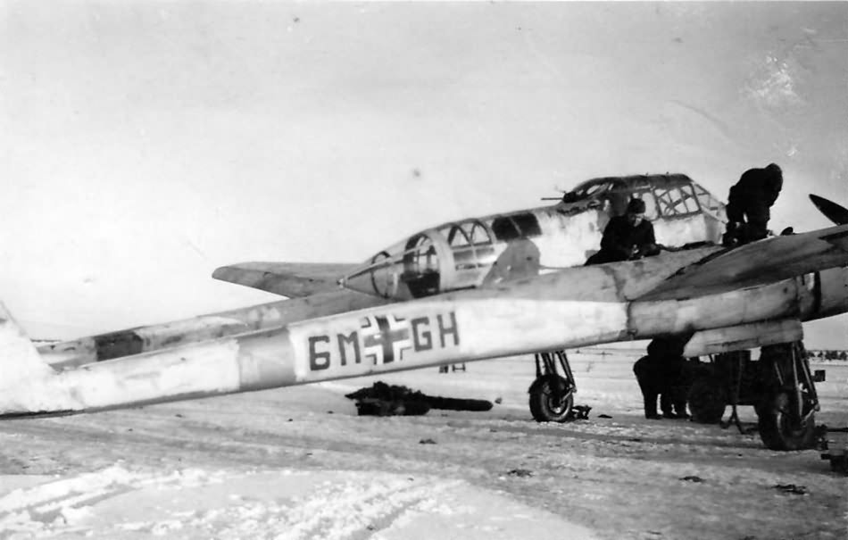Fw 189 A 6M+GH of the 1.(H)/11 1942-43 Eastern Front