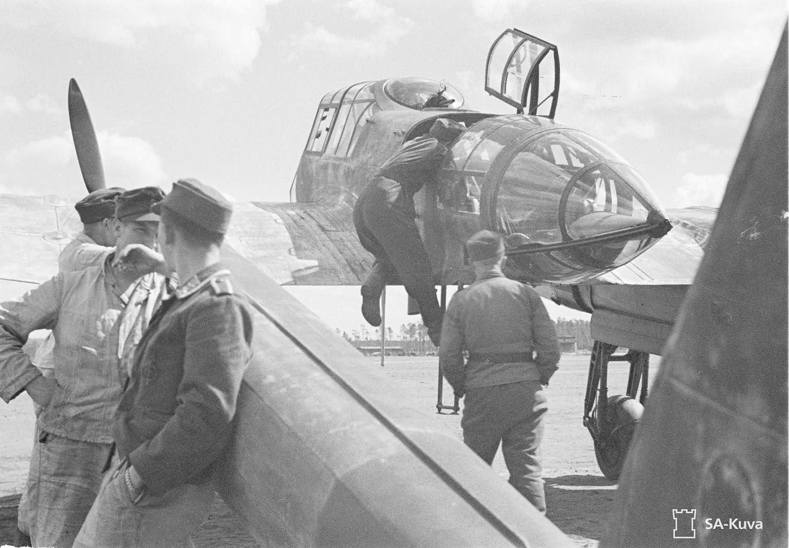 Focke-Wulf Fw 189 A of the 1.(H)/32 June 1943