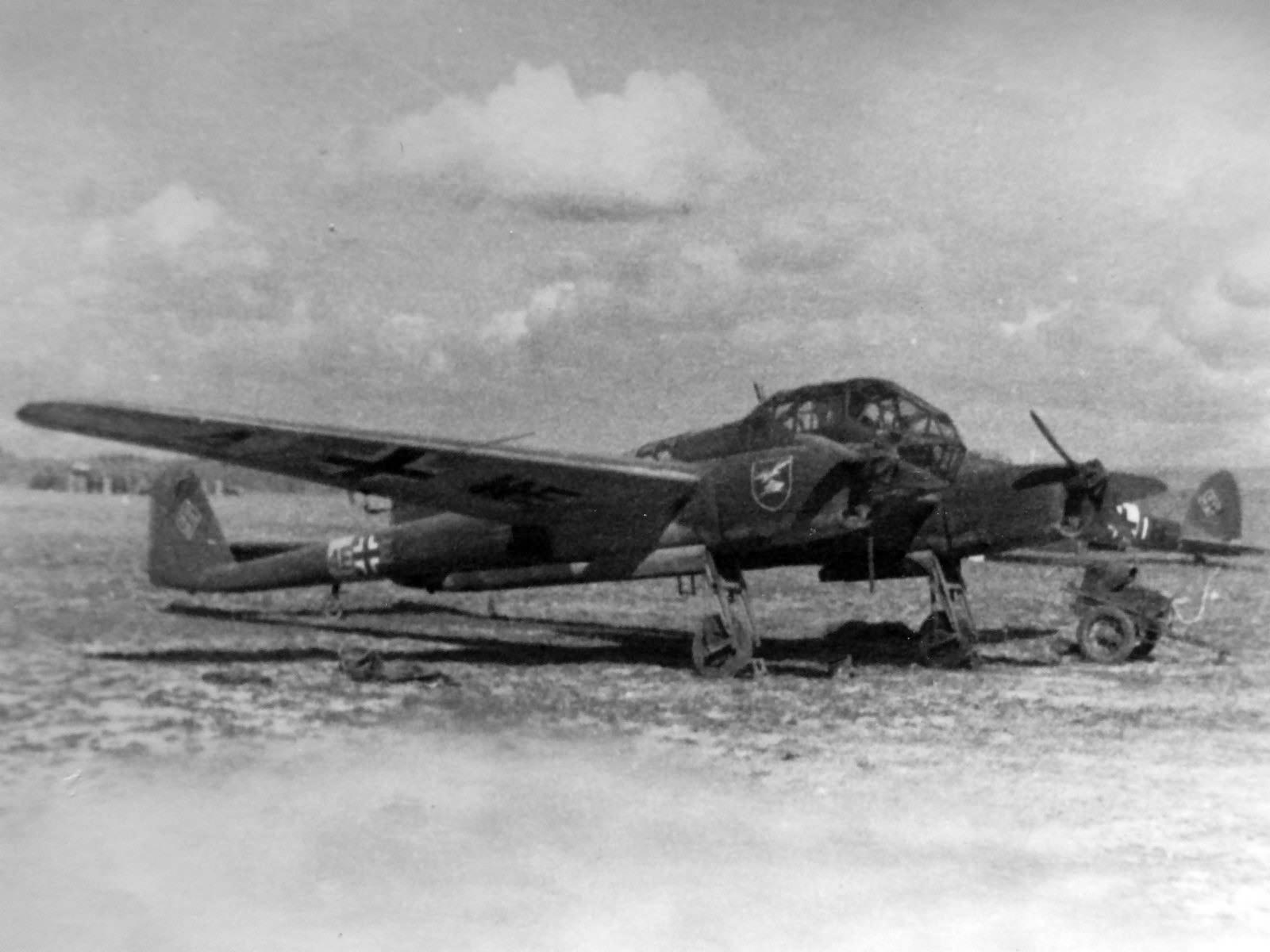 Focke-Wulf Fw 189 Uhu of the Aufklarungsgruppe 13