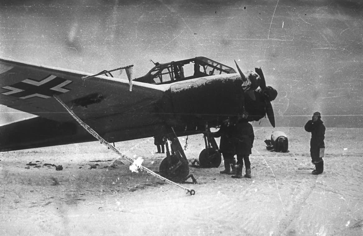 Focke-Wulf Fw 189 winter