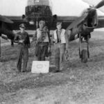 Focke Wulf Fw189 with crew