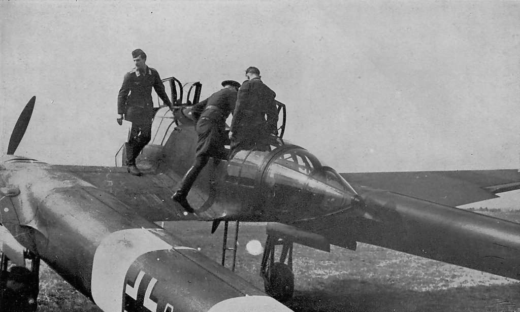 Focke-Wulf Fw 189 of the 1.(H)/12