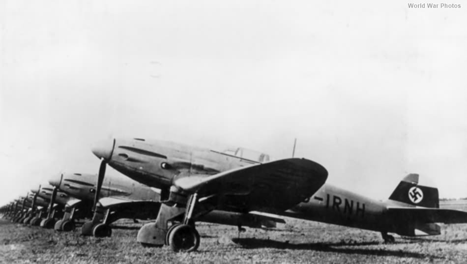 He 112B Rostock 1938
