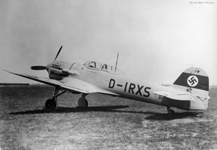 He 112 V-11 D-IRXS
