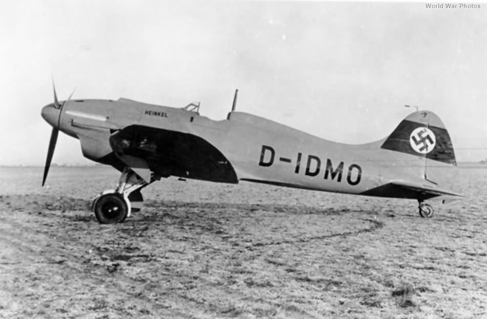 Heinkel He 112 V-3 D-IDMO