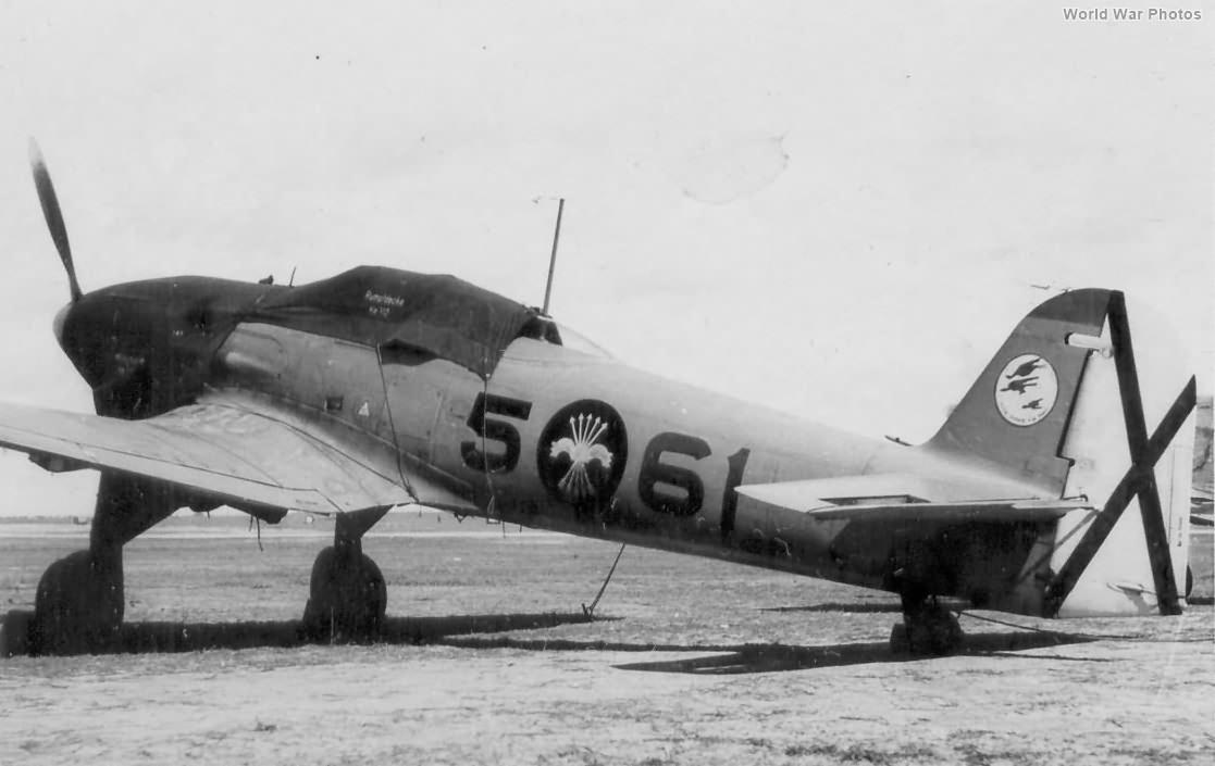 Spanish He 112B 5-61