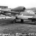 HE162 120067 at Kassel Waldau Y 96 1945