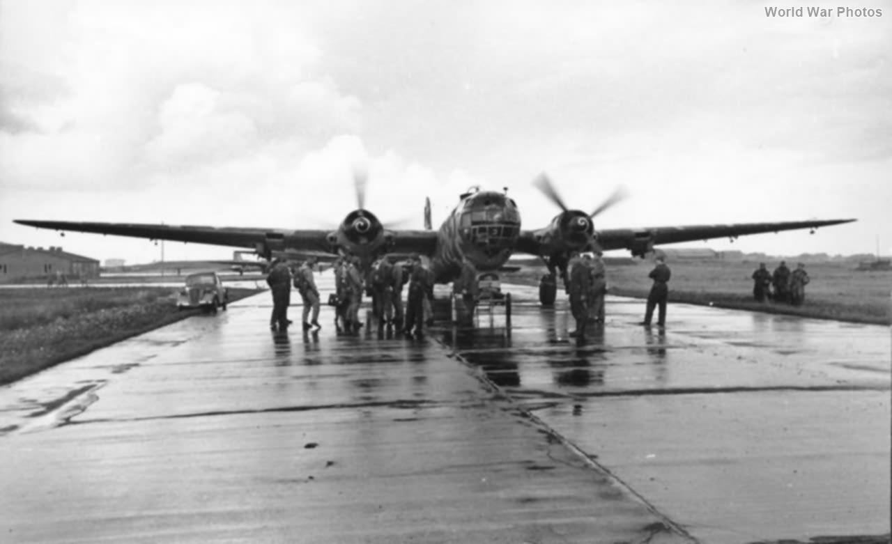 He 177A-5 of the 4/KG 40 Bordeaux-Merignac