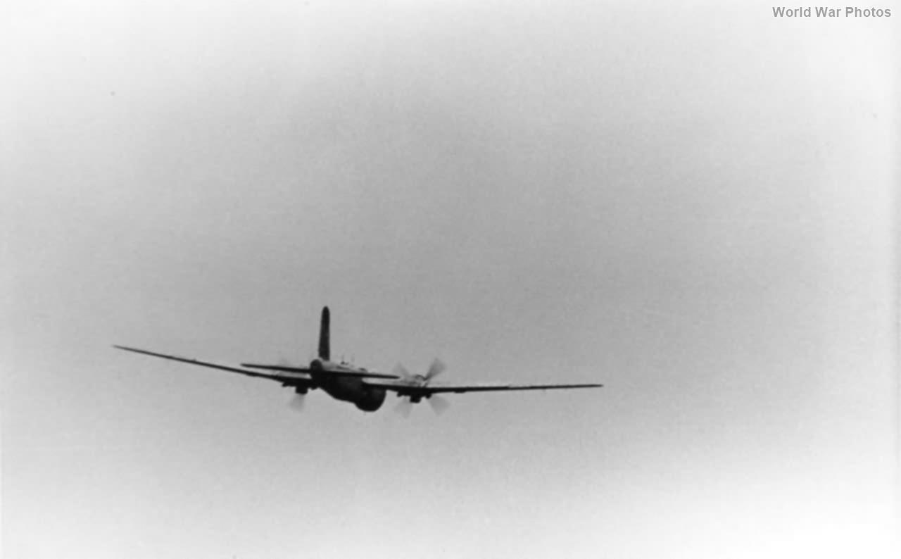 He 177 in flight