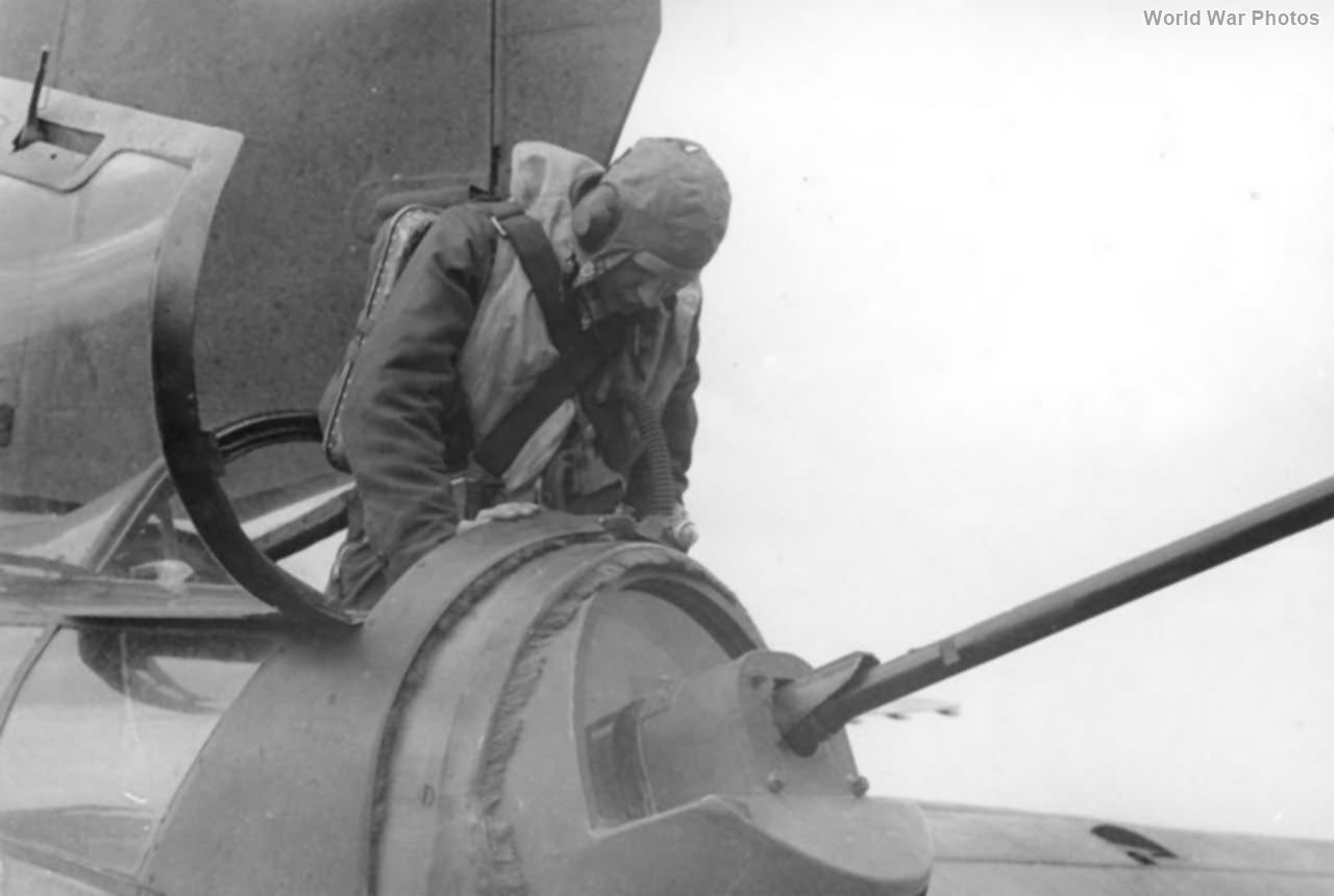 He 177 rear gunner