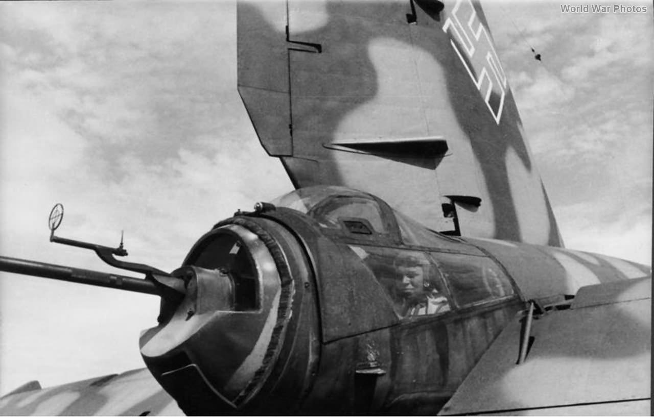 He 177 tail gunner