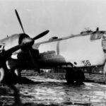 Captured He 177A-5 550256 GP-RY France 1944
