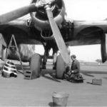 He 177 A-5 II KG 40 undercarriage