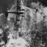 Bomber Heinkel He 111 during Battle of Britain 1940
