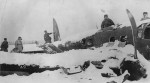 Crashed He111 in Russia 1943