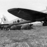 Bomber He 111 B 25-15 of K/88 Spain 1938